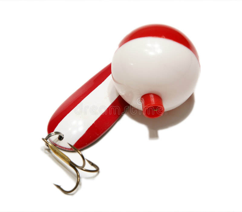 Lure and Bobber stock photography