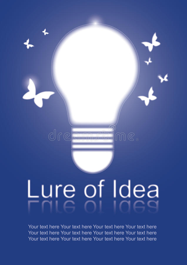 Lure of Idea stock photography