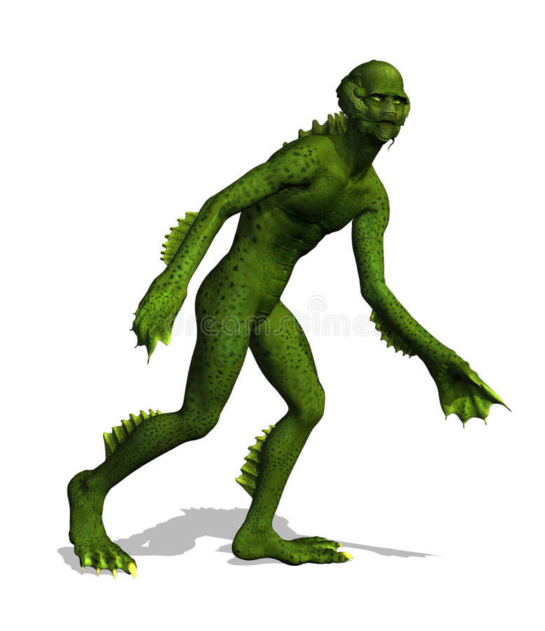 Lurking Swamp Creature Stock Photography