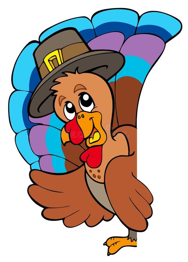 Download Lurking Thanksgiving Turkey Stock Vector - Illustration of celebrate, bird: 15872662