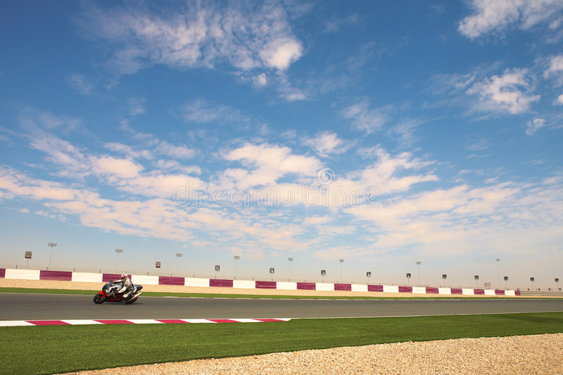 lusail racetrack στοκ φωτογραφίες