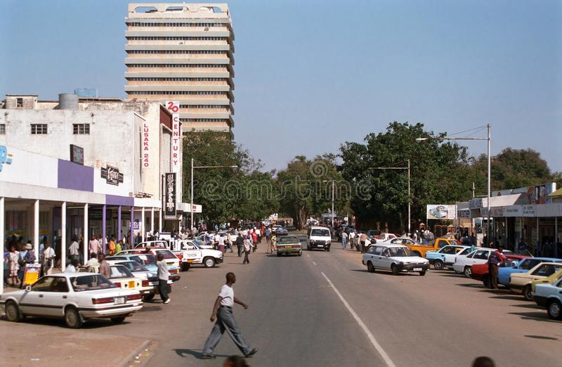 Lusaka, Zambia royalty-vrije stock fotografie