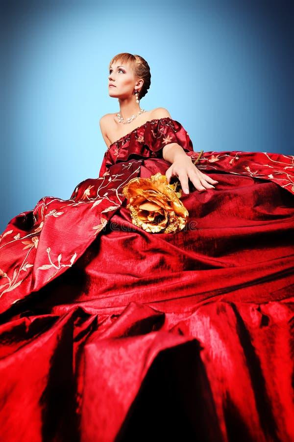 Lush dress stock image