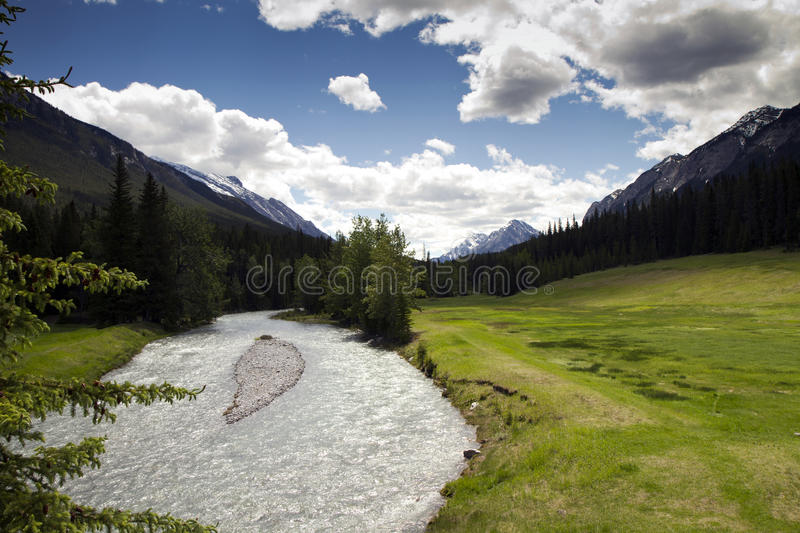Download Green Valley In The Rockies Stock Photo - Image: 29712988