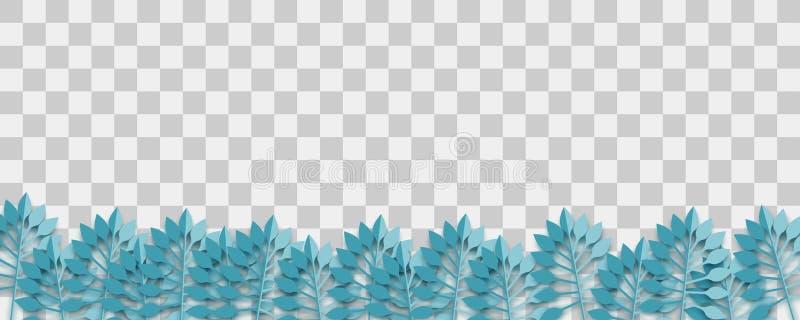 Lush plant paper origami vector vector illustration