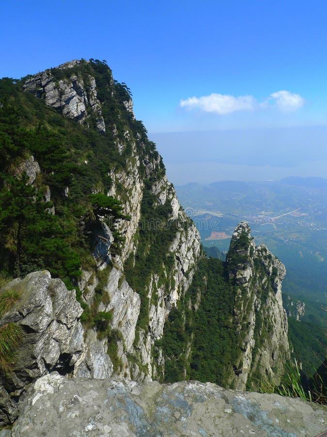 Горы Lushan стоковые фотографии rf