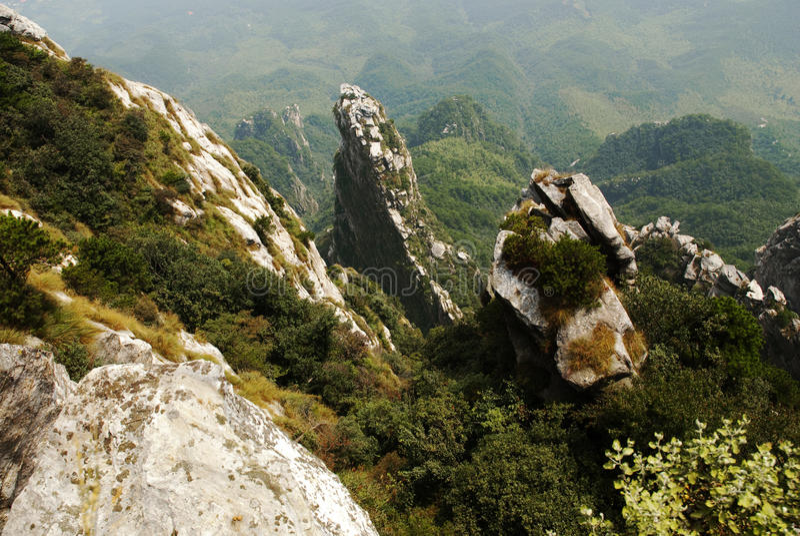 Lushan photographie stock libre de droits