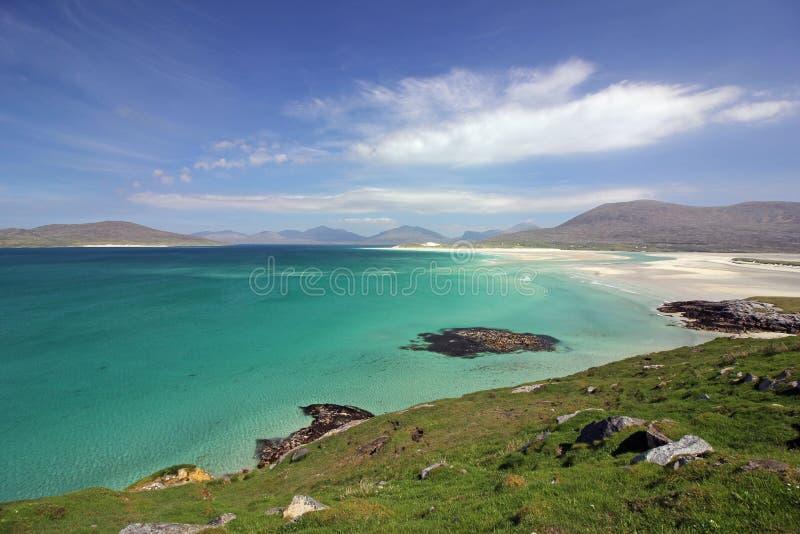 Luskentyre wyrzucać na brzeg, wyspa Harris, Szkocja zdjęcia royalty free