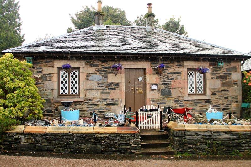 Luss, Loch Lomond, Scotland royalty free stock photo
