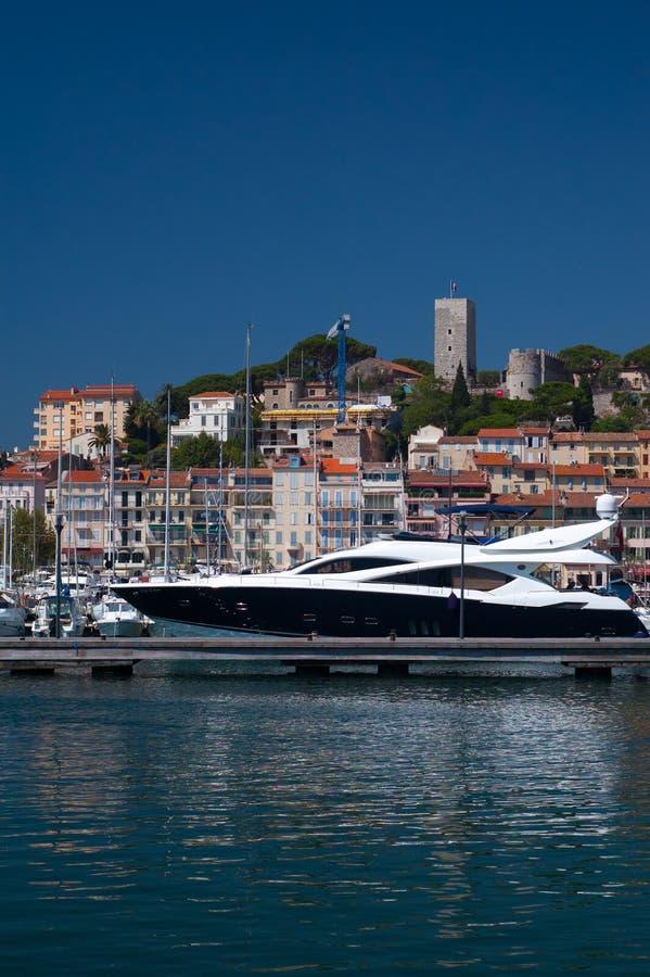 Lusso a Cannes fotografie stock