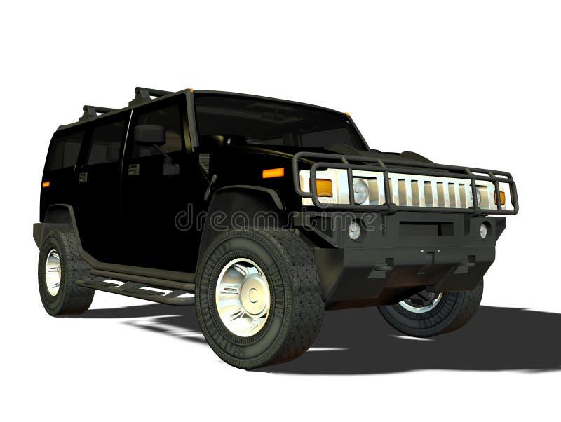 Lusso SUV illustrazione di stock