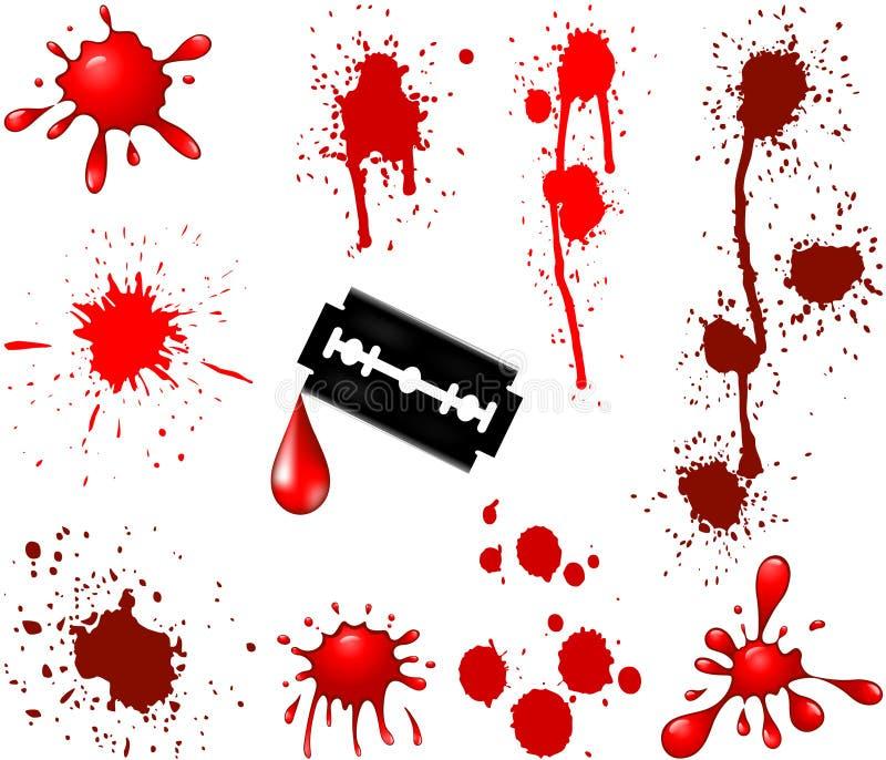 Lust do sangue ilustração do vetor