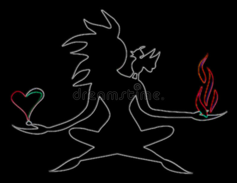 Download Is it Lust or Passion stock illustration. Image of flame - 4985369