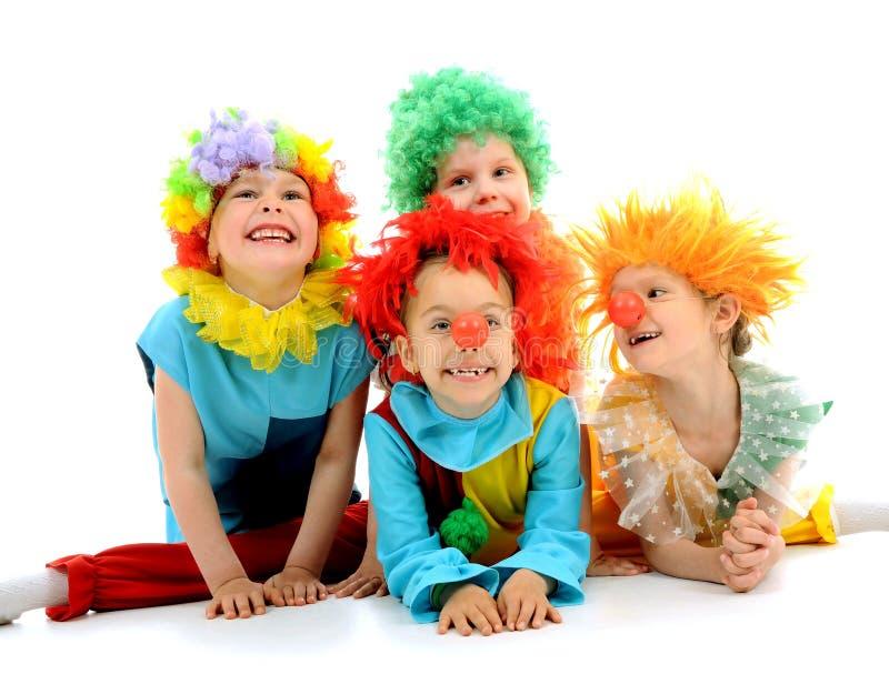 Lustige Clowne stockfotos