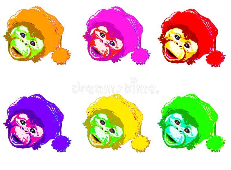 Berühmt Färbendes Bild Eines Affen Zeitgenössisch ...