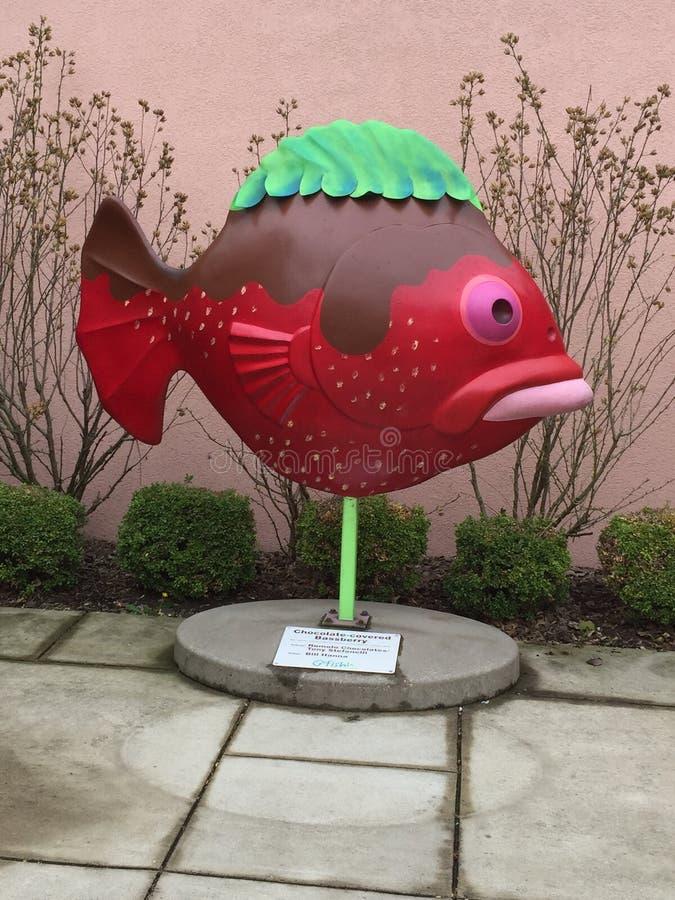 Lustige Fische stockbild