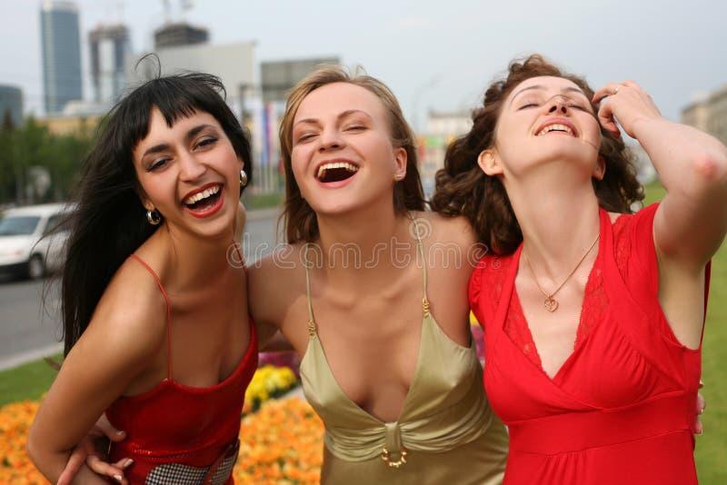 Lustige Freunde lizenzfreies stockbild