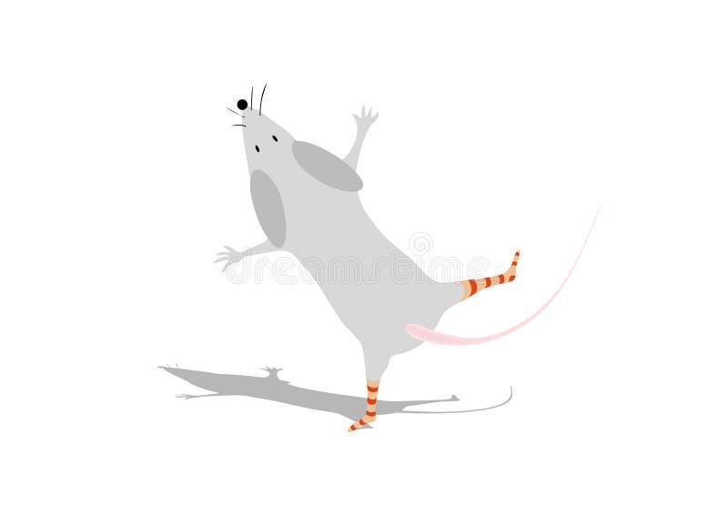 Lustige Maus stock abbildung