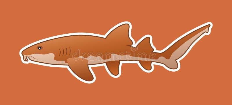 Lustiger Ammenhai stock abbildung
