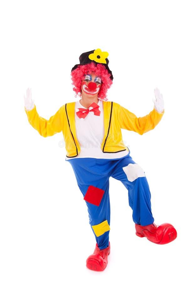 Lustiger Clown stockbilder