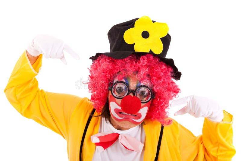 Lustiger Clown stockfotos