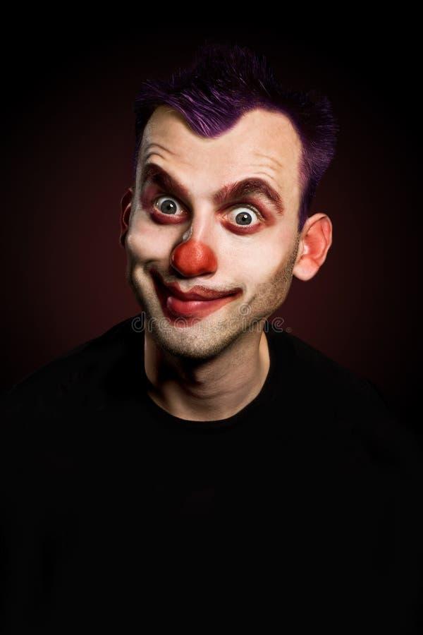 Lustiger Clown lizenzfreie stockbilder