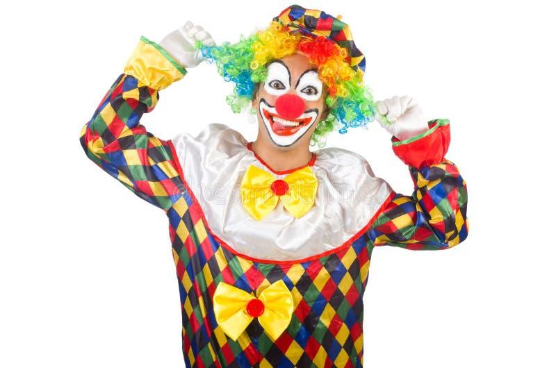 lustiger clown stockbild bild von humorvoll zirkus 34665339. Black Bedroom Furniture Sets. Home Design Ideas