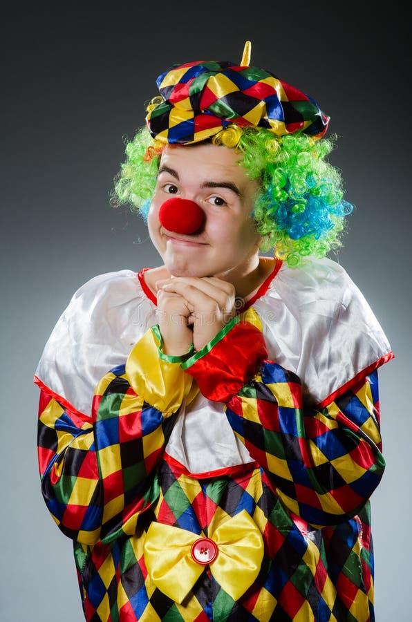 Lustiger Clown im Humor stockfotografie