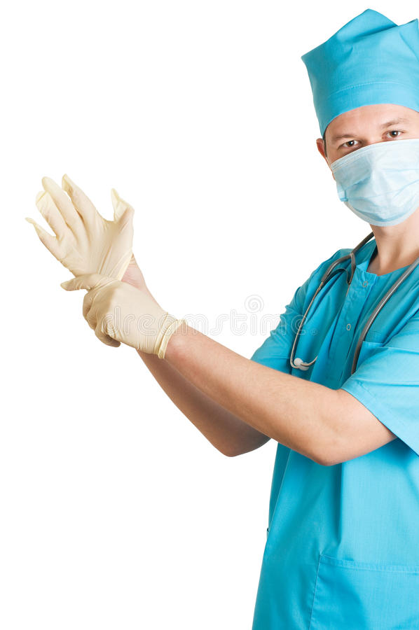 Lustiger Doktor stockfotos