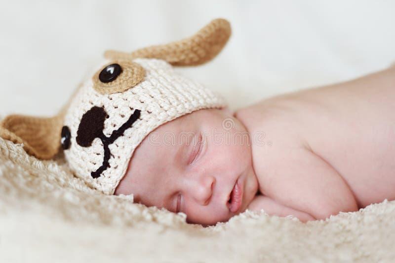 Lustiges neugeborenes lizenzfreie stockfotos