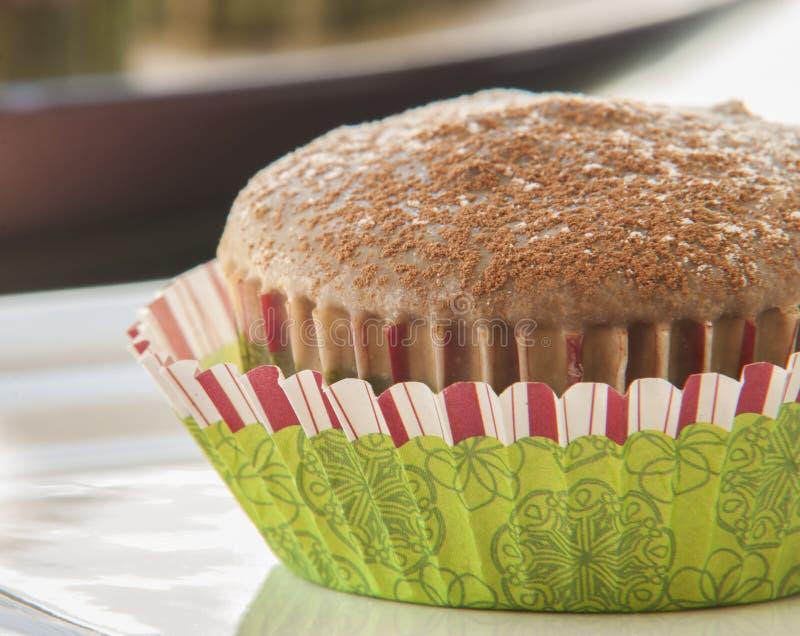 Lustre de petit pain de chocolat de Noël image stock