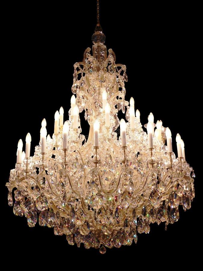 lustre en cristal photo stock image du bougie isolement 369384. Black Bedroom Furniture Sets. Home Design Ideas
