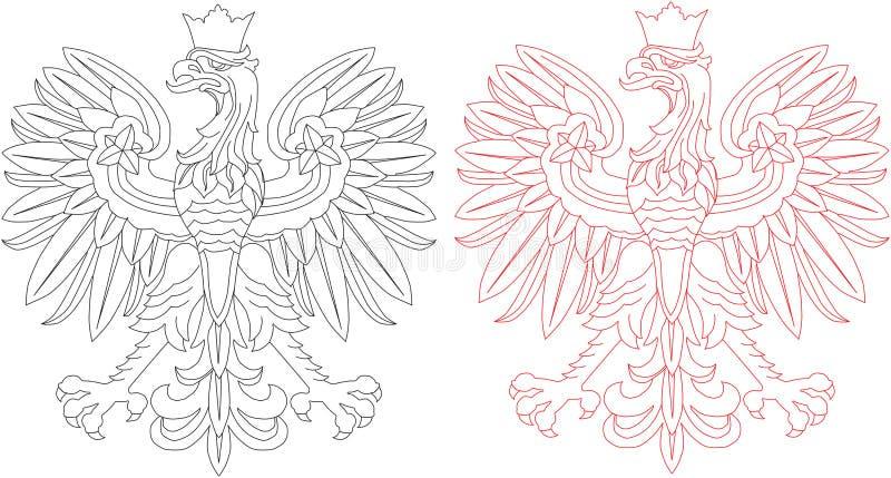 Lustre o emblema da águia