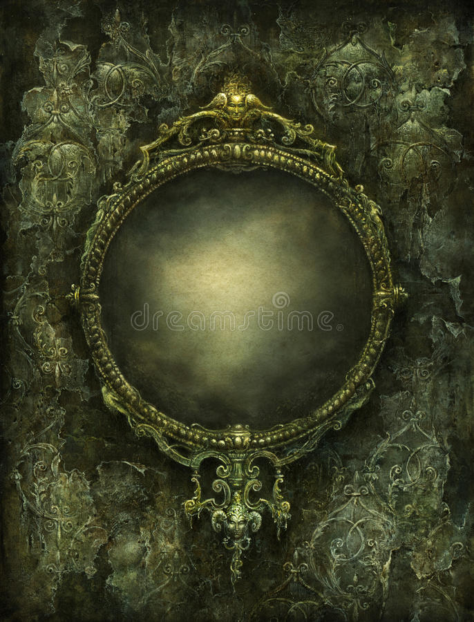 lustro royalty ilustracja