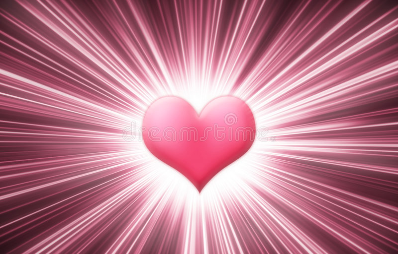 Lustro del cuore illustrazione di stock