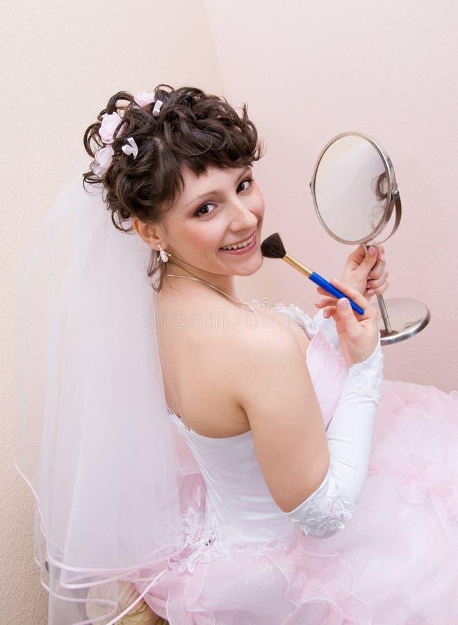 lustro panny młodej zdjęcie royalty free