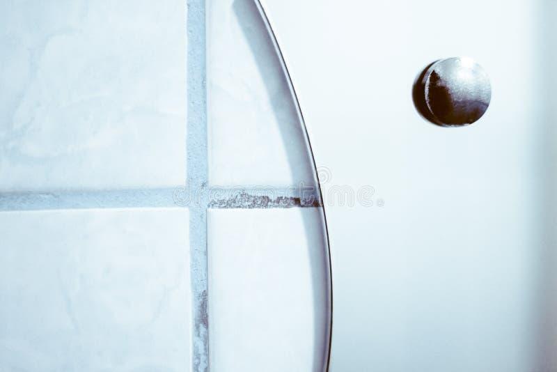 Lustro w łazience zdjęcia stock