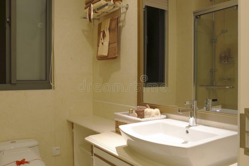 Lustro w łazience obraz royalty free