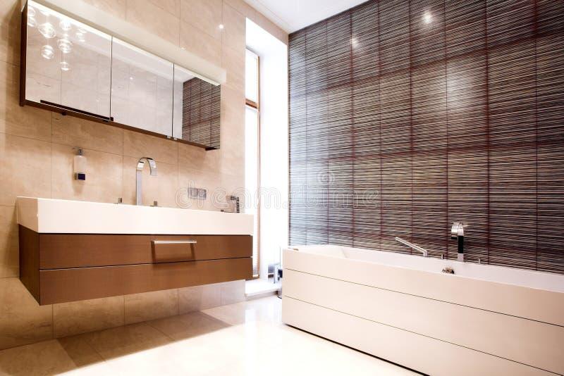 lustrzana łazienki balia obraz royalty free