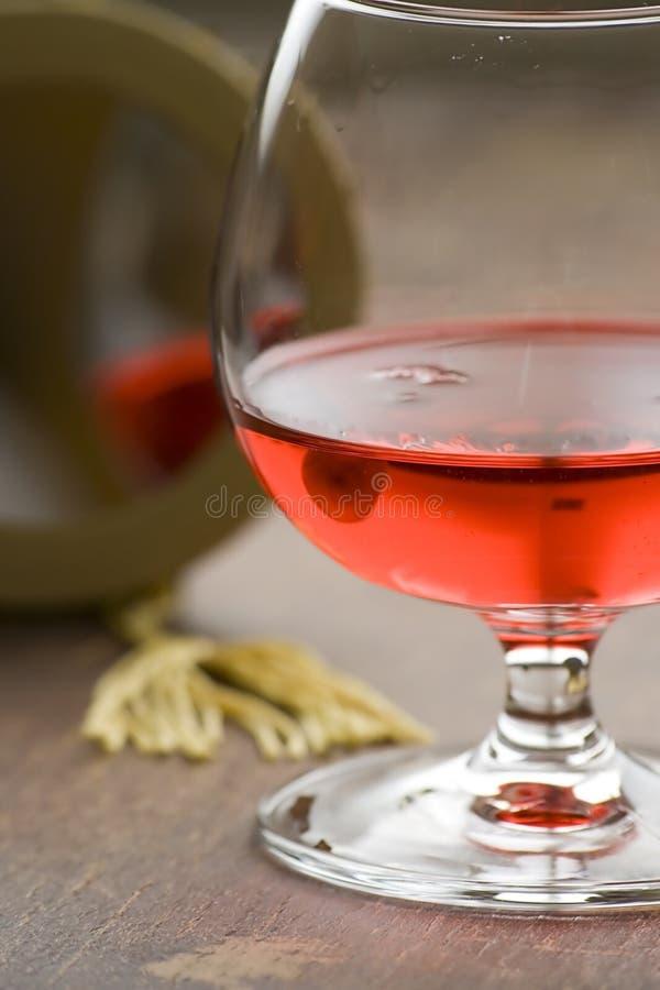 lustrzana likierowe czerwone ii fotografia royalty free