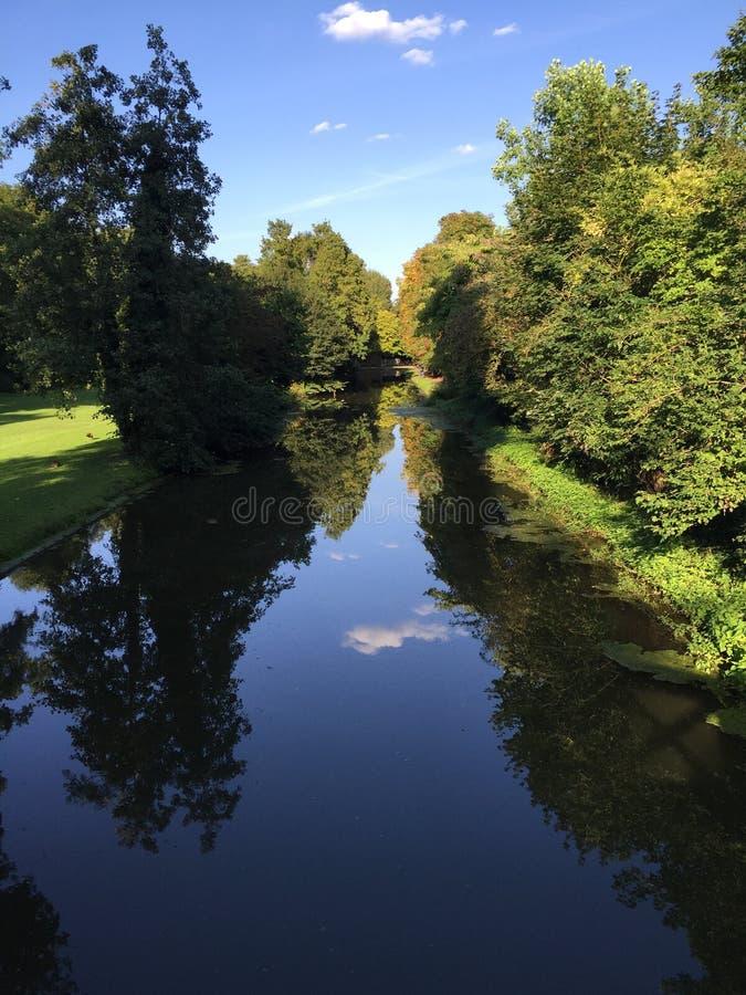 Lustrzana rzeka zdjęcia stock