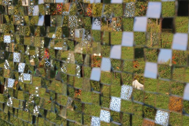 Lustrzani mali kwadraty obrazy royalty free