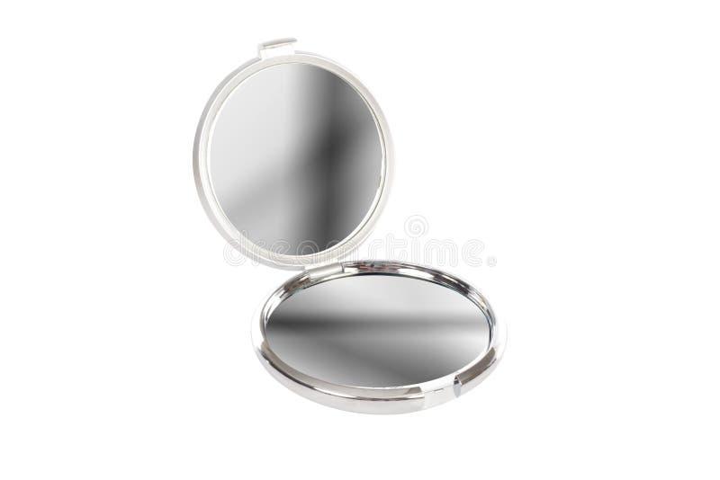 lustrzany chromu round obrazy stock