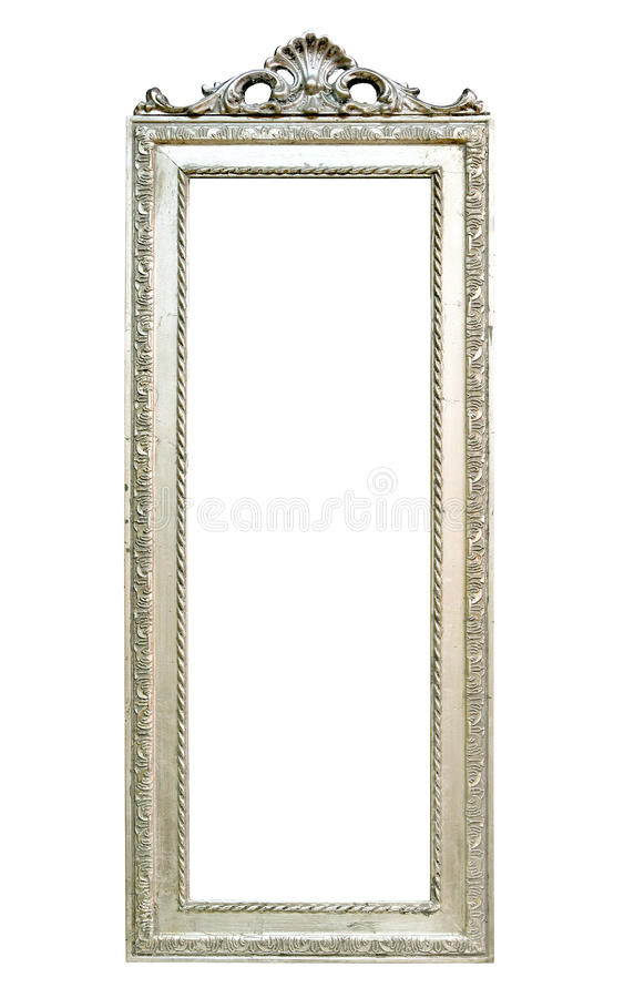 lustrzany srebro zdjęcie royalty free