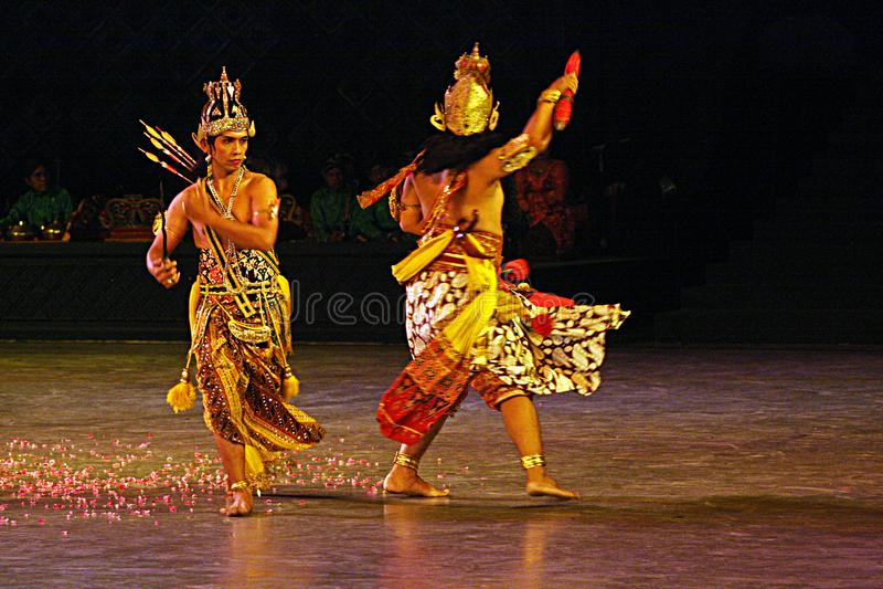 Luta de Rama imagem de stock royalty free