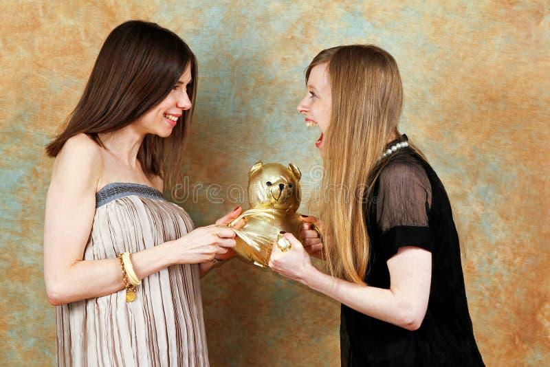 Luta de Teddybear fotos de stock royalty free