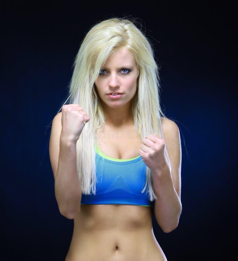 lutador foto de stock