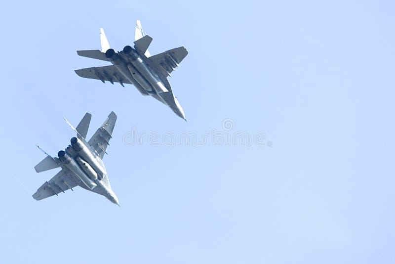 Lutadores de jato do zangão F/A-18 fotos de stock