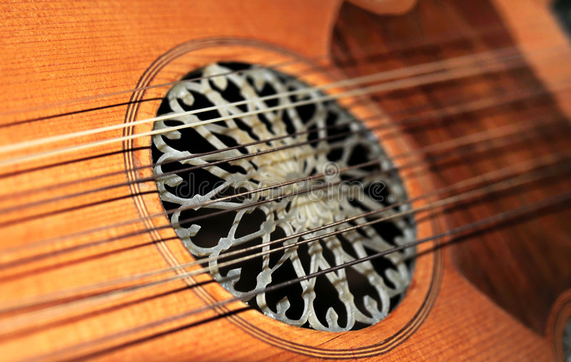 Download Lute strings stock photo. Image of metal, antique, string - 7527746