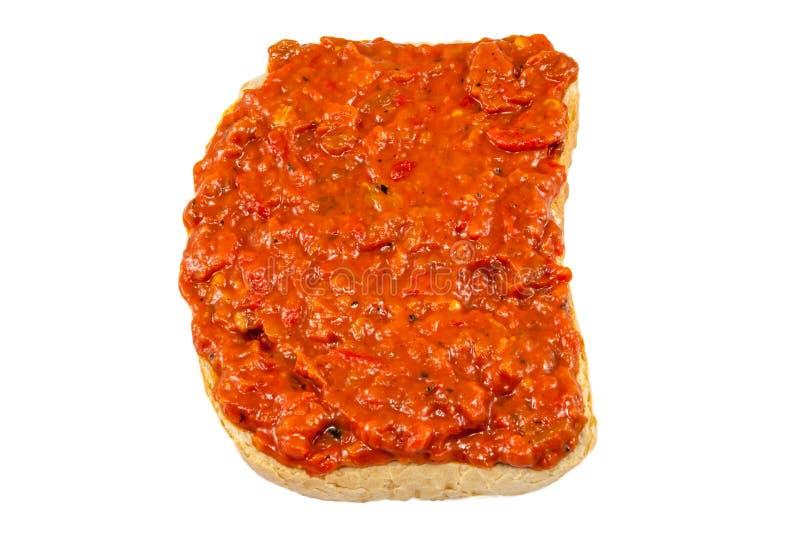 Lutenica - болгарский смак стоковая фотография rf